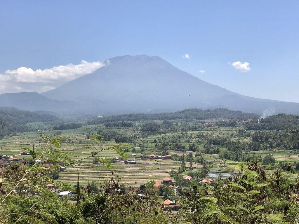 Panoramaview on Mount Agung Bukit Asah East-Bali